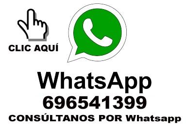whatsapp 696541399 consúltanos